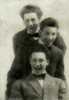 Groucho Gummo and Harpo