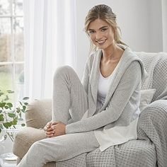 Buy Waffle Stitch Cardigan - from The White Company