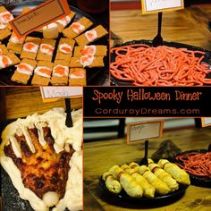 Spooky Halloween Food