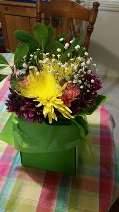 Mother's day flowers from my son 2016....