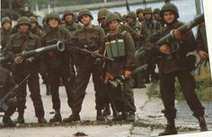 1982. Argentine Soldiers - Falklands War. They took the Malvinas....and then, they lost them.