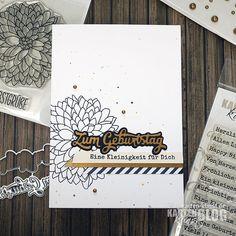 Karten-Kunst » Chrysantheme zum Geburtstag