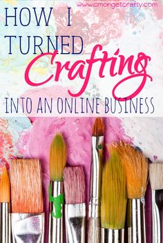 Are you into DIY or crafting? Find out how one woman turned her hobby into an online business