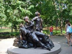 Women's Memorial at the Vietnam Veterans' Memorial