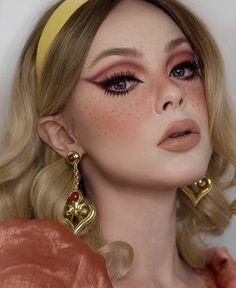 Cute Makeup Looks, Makeup Eye Looks, Full Makeup, Crazy Makeup, Eyeshadow Looks, Glam Makeup, Pretty Makeup, Makeup Art, Makeup Tips