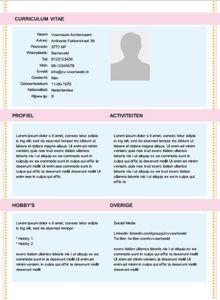 ... cv maken cv voorbeelden cv en sollicitatiebrief cv template online cv: caroldoey.com/blog/d-online-cv-maker-eenvoudig-een-perfect-cv-maken...
