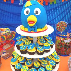 Backyardigan Cake/Cupcake (Pablo)