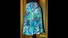 Falda en gajos (confección)