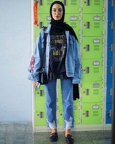 Modern Hijab Fashion, Street Hijab Fashion, Hijab Fashion Inspiration, Muslim Fashion, Hijab Style, Casual Hijab Outfit, Hijab Chic, Modest Outfits, Trendy Outfits