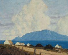 WEST OF IRELAND LANDSCAPE, 1925-1935  | Paul Henry  RHA (1876-1958) | Price Realised: €106, 000 Auction: 30 May 2011