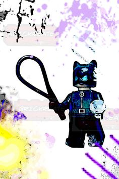 LEGO® Superhero Catwoman Poster $8