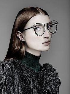 This Collection Is Huge News for Girls Who Wear Glasses | WhoWhatWear.com | Bloglovin'