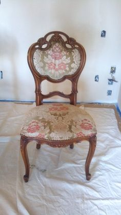 Need 4 dining chairs that mix well with these Victorian chairs.