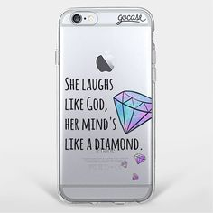 Custom Phone Case Like a Diamond Cell Phones & Accessories - Cell Phone, Cases & Covers - http://amzn.to/2iNpCNS