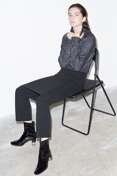 Zara fall 2015 knitwear Lookbook Photoshoot
