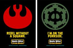 Angry Bird Star Wars - Promotional Posters