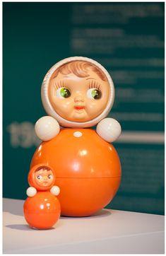Nevalyashka Doll. 1950-1970s. YES!!! Found it!  My inspiration - my rocking doll! :)