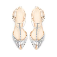 The Tall Bride's Shoe Guide — 20 Low-Heeled Shoes For Your Big Day