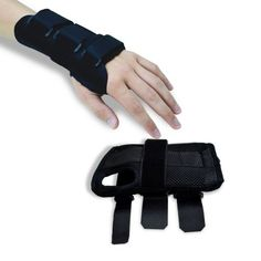 Wrist Brace Pair Two 2 SmallMedium Carpal Tunnel Right and Left Wrist Support Forearm Splint Band 3 Straps Adjustable Breathable for Sports Sprains Arthritis and Tendinitis *** Check out this great product. (This is an affiliate link)