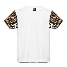 Black Boy Place - T-shirt Sleeves Leopard