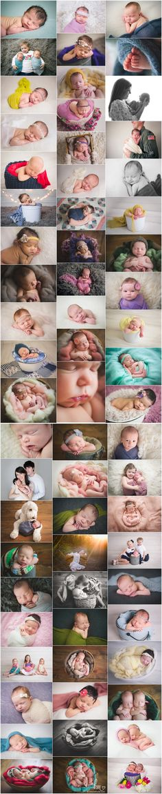 Indianapolis newborn photographer - KristeenMarie Photography. So many adorable babies!!!