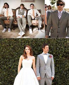 Los Angeles Wedding Groomsmen Style