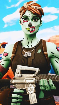 Pin By Otaku Gimmers On Fortnite Gaming Wallpapers Ghoul Trooper Game Wallpaper Iphone