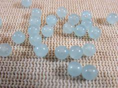 Apatite bleu 6mm Boules Gemme strang perles Gemme Chaîne pierres paradis