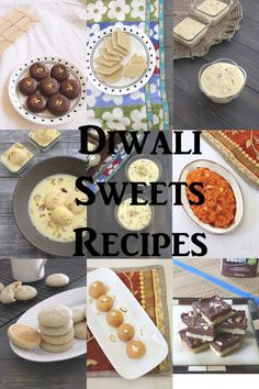 A collection of easy Diwali sweets recipe. It includes traditional sweets like gulab jamun, kaju katli etc and different halwa, ladoo, kheer recipes