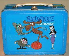 Vintage Rocky & Bullwinkle Lunchbox
