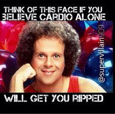 Gym humor....skinny fat / cardio queens