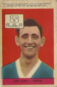 90. James (Jimmy) Tansey Everton