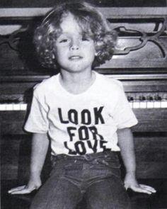 Billie as a kid