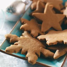 Gingerbread Cookies Recipes from Taste of Home, including Crisp Gingerbread Cutouts Recipe