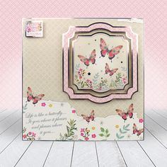 Club Hunkydory Member's Gift - Wishes on Wings Card Kit, I Card, Kanban Crafts, Hunkydory Crafts, Card Companies, Free Gift Cards, Free Gifts, Adult Crafts, Butterfly Cards
