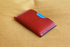 Patina- Leather card holder