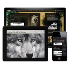 Web design and video, for luxury products, marble mosaic art. #UI #webdesign #video