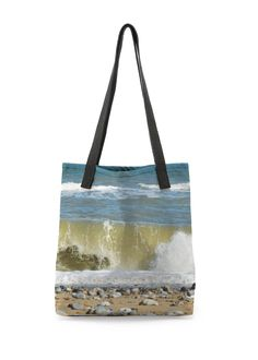 Beach Tote Bag: What a beautiful product! Featuring original artwork by independent designers, this all-over printed tote bag is stylish and practical. As perfect for the office as it is for the beach or grocery store.