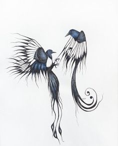Magpie tattoo! Two for joy :)