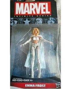 #Marvel #Infinite #Series #Emma #Frost  #Universe #action #figures #figuras #ação #comics #Quadrinhos #xmen #mutants #mutantes #Hasbro #actionfigures #superheroes
