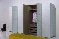 moderner Kleiderschrank | weiß | Front variabel | in unterschiedlichen Farben und Materialien erhältlich - bei Möbel Morschett