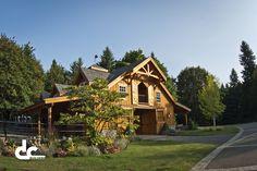 Custom Horse Barn With Living Quarters In West Linn, Oregon - DC Building