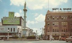 Undated photo of Watt & Shand in downtown Lancaster.