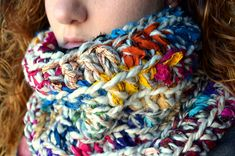 Ravelry: Cowl of Many Colors pattern by Courtney Laube