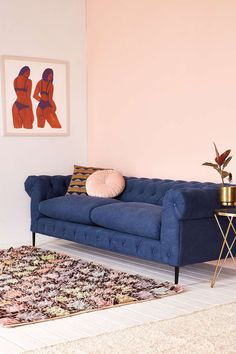Canal Tufted Sofa - Urban Outfitters