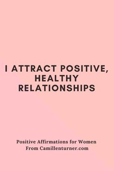 My latest blog post features 30 Positive Affirmations for women. Make sure you do the best you can to have a healthy morning and day. Read the post at www.camillenturner.com
