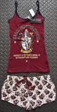 PRIMARK Team Gryffindor Harry Potter Vest & Shorts PJ Hogwarts Set Sizes 6 - 20 - (Size A) 6 - 8 (UK size)