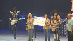 """Kiss - Beth/Rock & Roll All Nite {DCU Center Worcester Mass 9/3/16} THE """"KISS"""" GROUP JUST MADE ME A FAN OF THEIRS AFTER WATCHING THIS 16 MINUTE VIDEO. YOU REALLY SHOULD AT LEAST WATCH AROUND THE 3 MINUTE MARK TO 10 MIN. MARK. PATRIOTIC ENOUGH TO PUT TEARS IN MY EYES! THEY GAVE $150,000 TO VETERANS, $125,000 TO THE WOUNDED WARRIORS. They also spoke of how """"cool' it is to be patriotic!"""