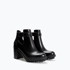 Image 2 of OPEN TRACK SOLE BOOTIE from Zara
