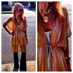 Rachel Zoe - always so Boho-chic. Love anything and everything she wears!!!